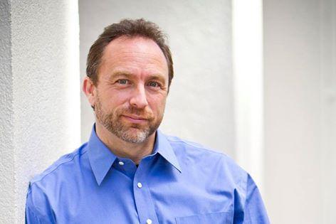 Jimmy Wales مؤسس Wikipedia